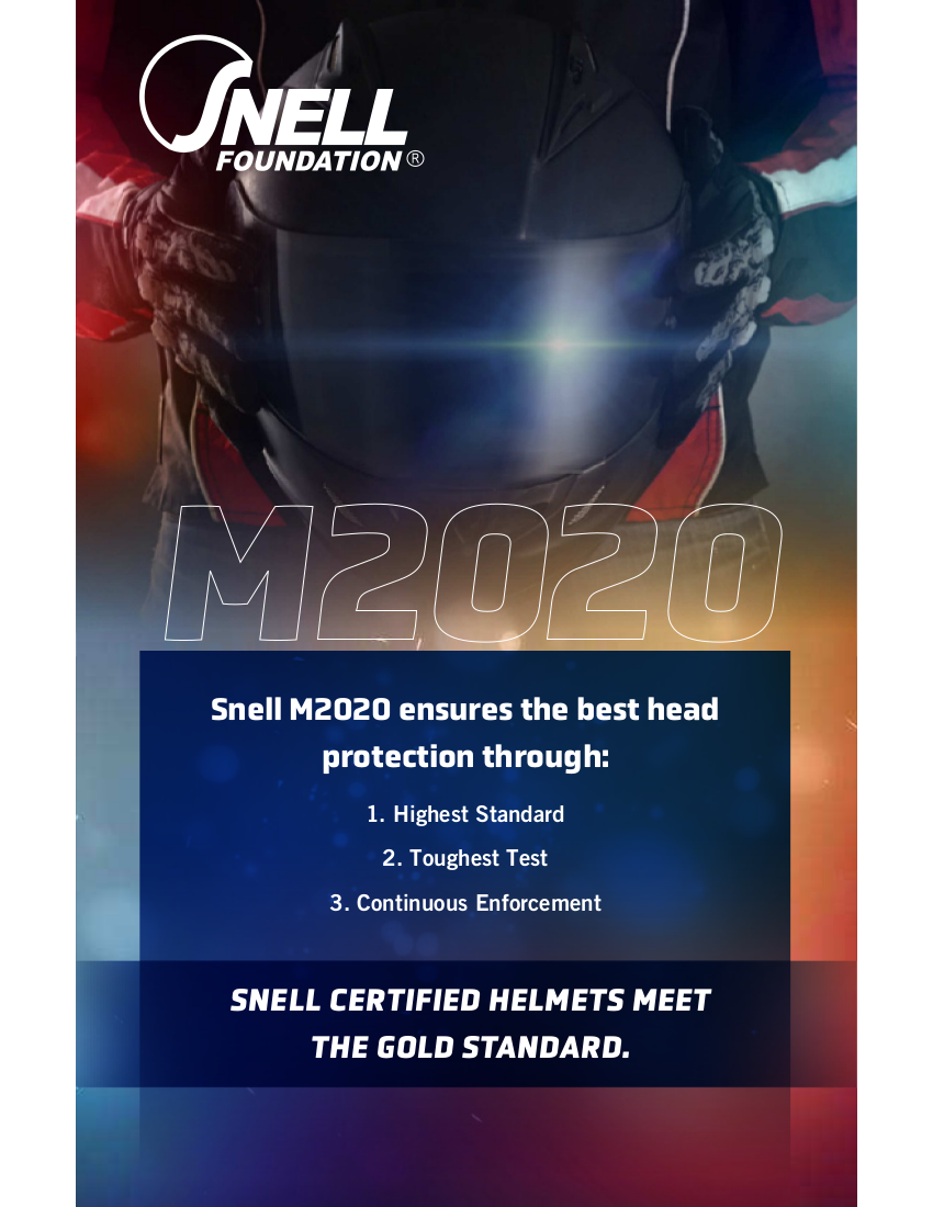 Snell M2020 flyer